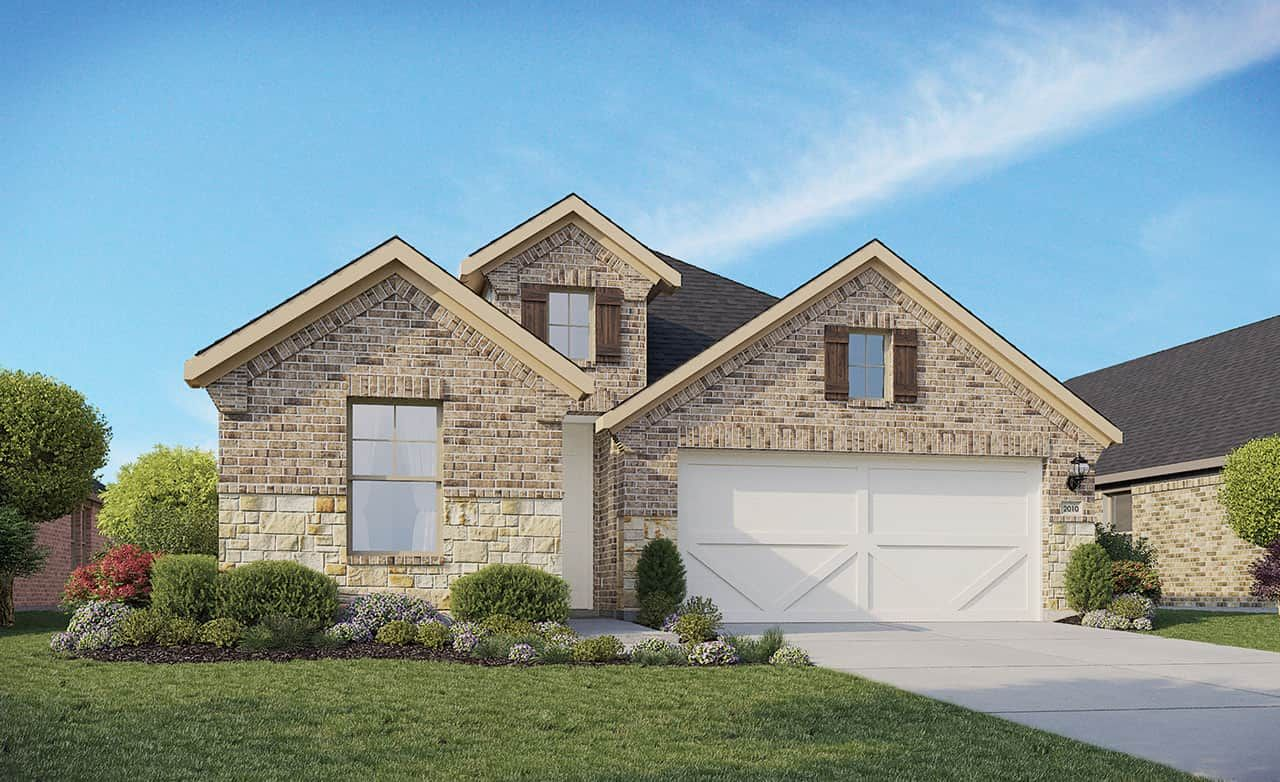 Exterior featured in the Enclave Series - Fiji By Gehan Homes in Austin, TX