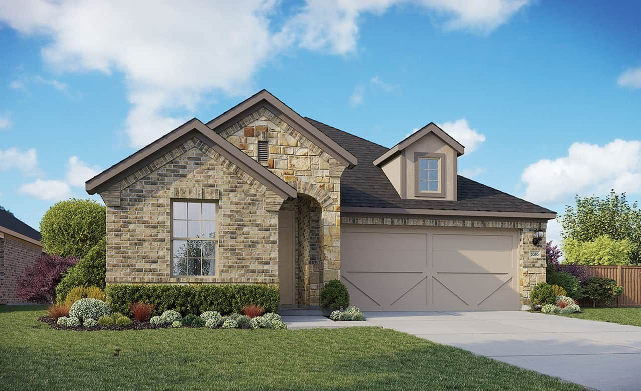 Exterior featured in the Enclave Series - Fiji By Gehan Homes in Houston, TX