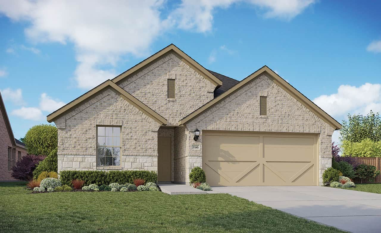 Exterior featured in the Enclave Series - Bali By Gehan Homes in Houston, TX