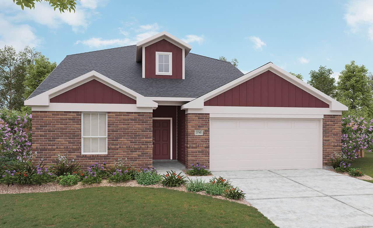 Exterior featured in the Landmark Series - Meyerson By Gehan Homes in San Antonio, TX