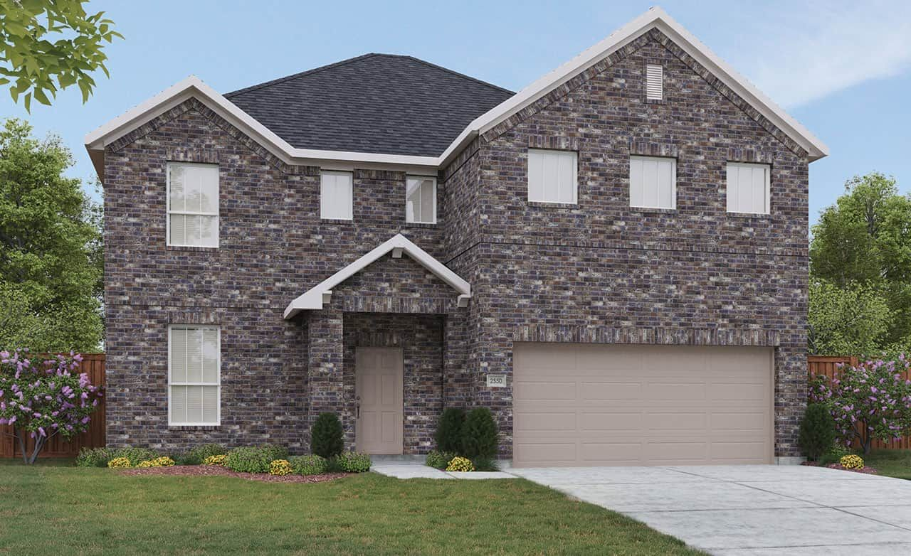 Exterior featured in the Landmark Series - Majestic By Gehan Homes in Dallas, TX