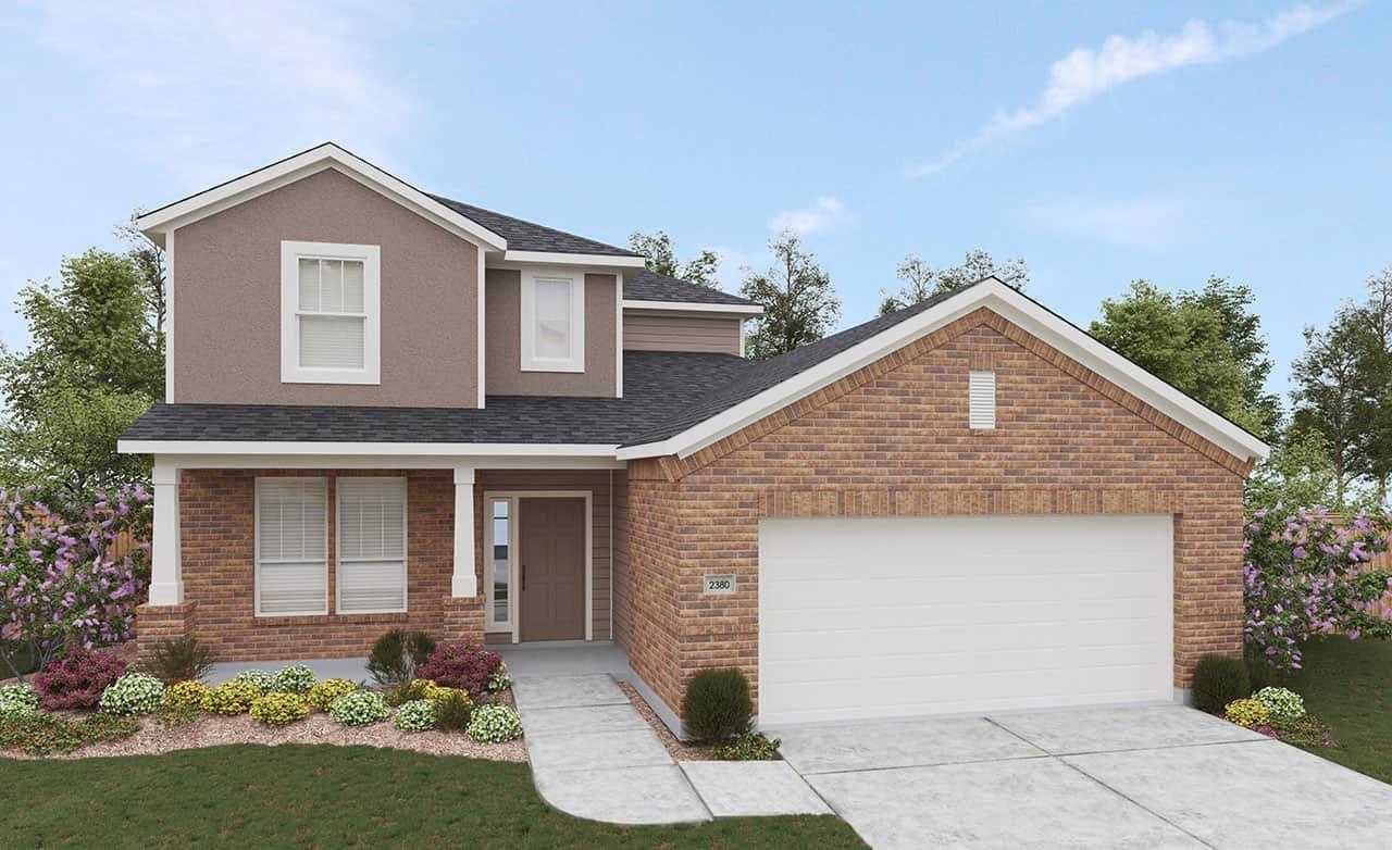 Exterior featured in the Landmark Series - Southfork By Gehan Homes in Dallas, TX