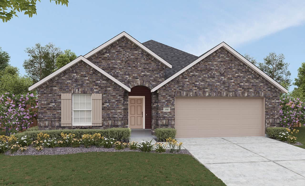 Exterior featured in the Landmark Series - Paramount By Gehan Homes in Dallas, TX