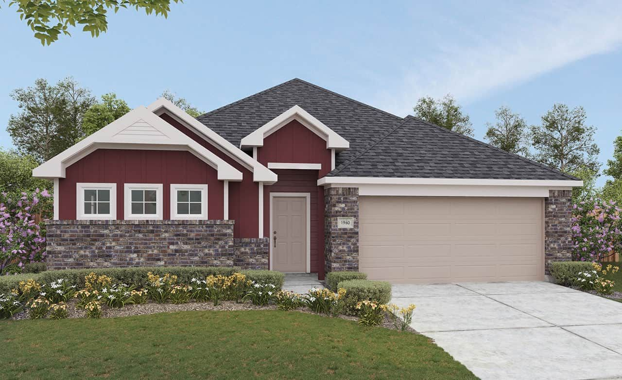 Exterior featured in the Landmark Series - Kimbell By Gehan Homes in Dallas, TX