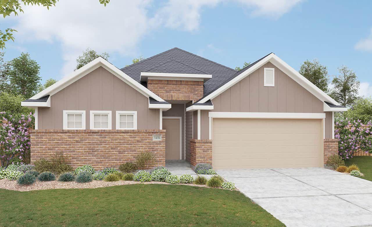Exterior featured in the Landmark Series - Blanton By Gehan Homes in Dallas, TX