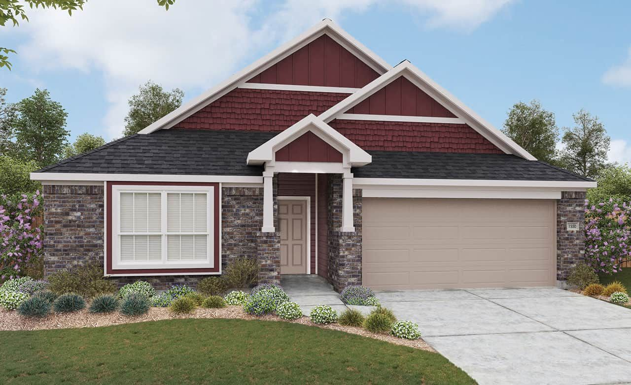 Exterior featured in the Landmark Series - Avalon By Gray Point Homes in San Antonio, TX