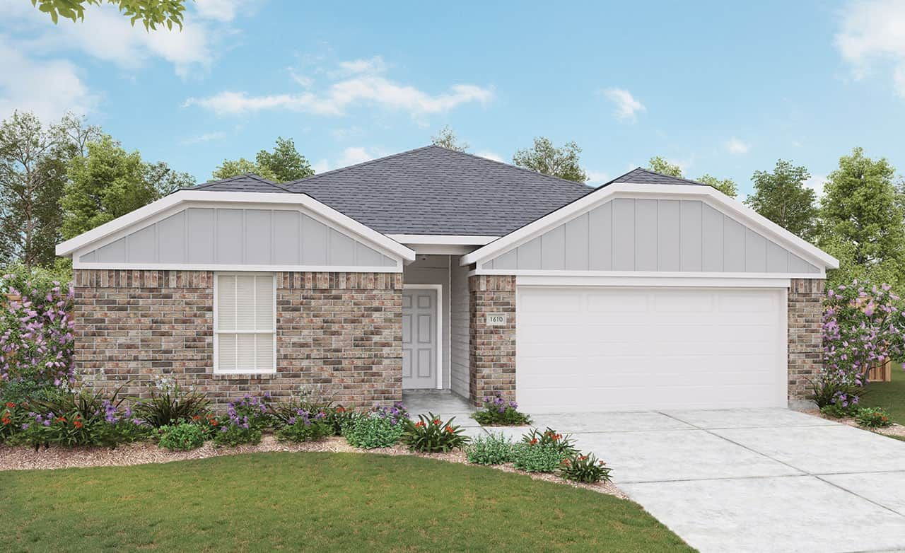 Exterior featured in the Landmark Series - Blanton By Gray Point Homes in Dallas, TX