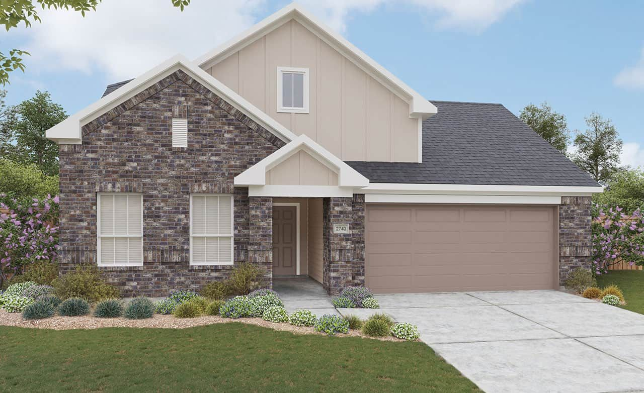 Exterior featured in the Landmark Series - Meyerson By Gray Point Homes in San Antonio, TX