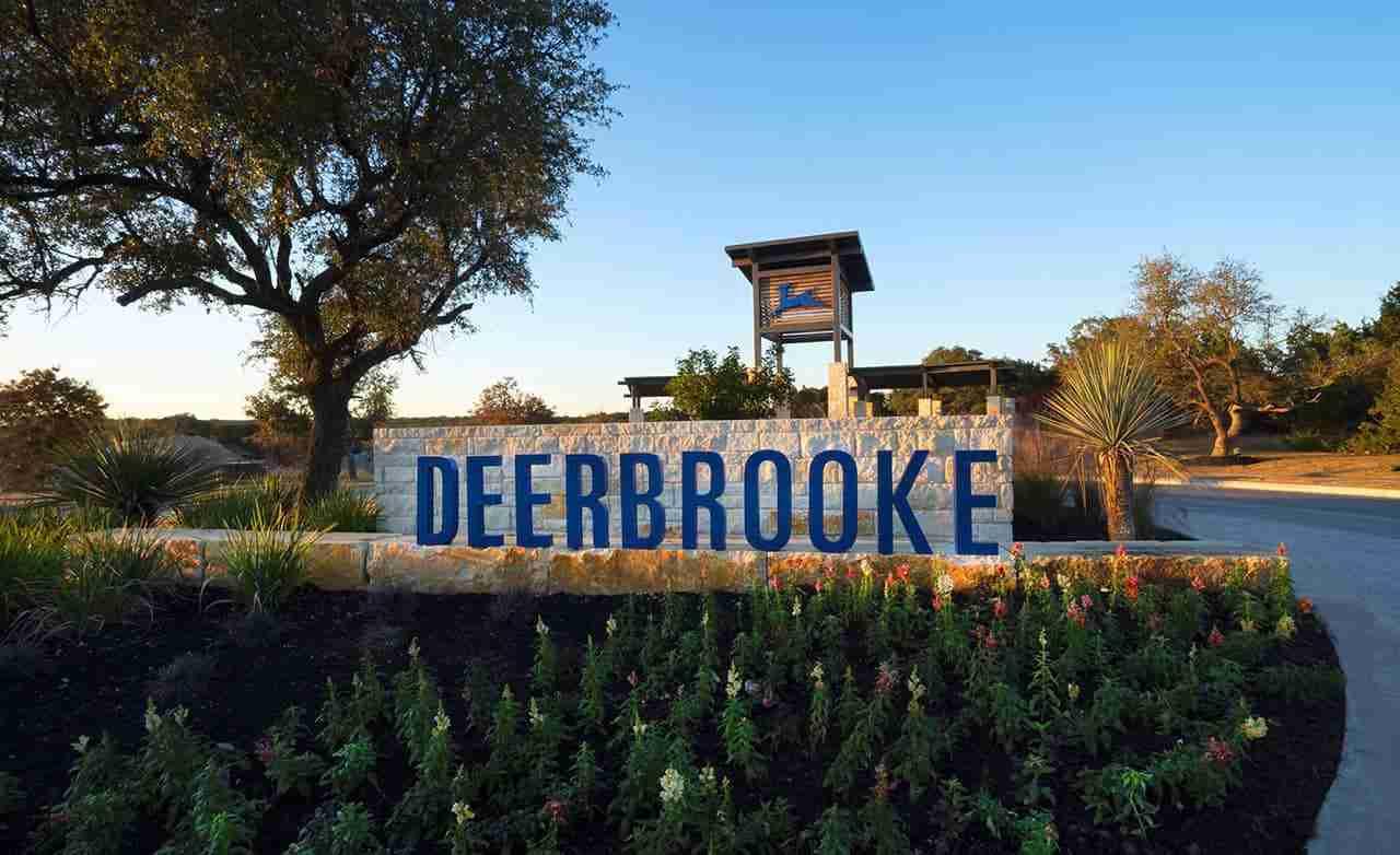 Deerbrooke Community Sign