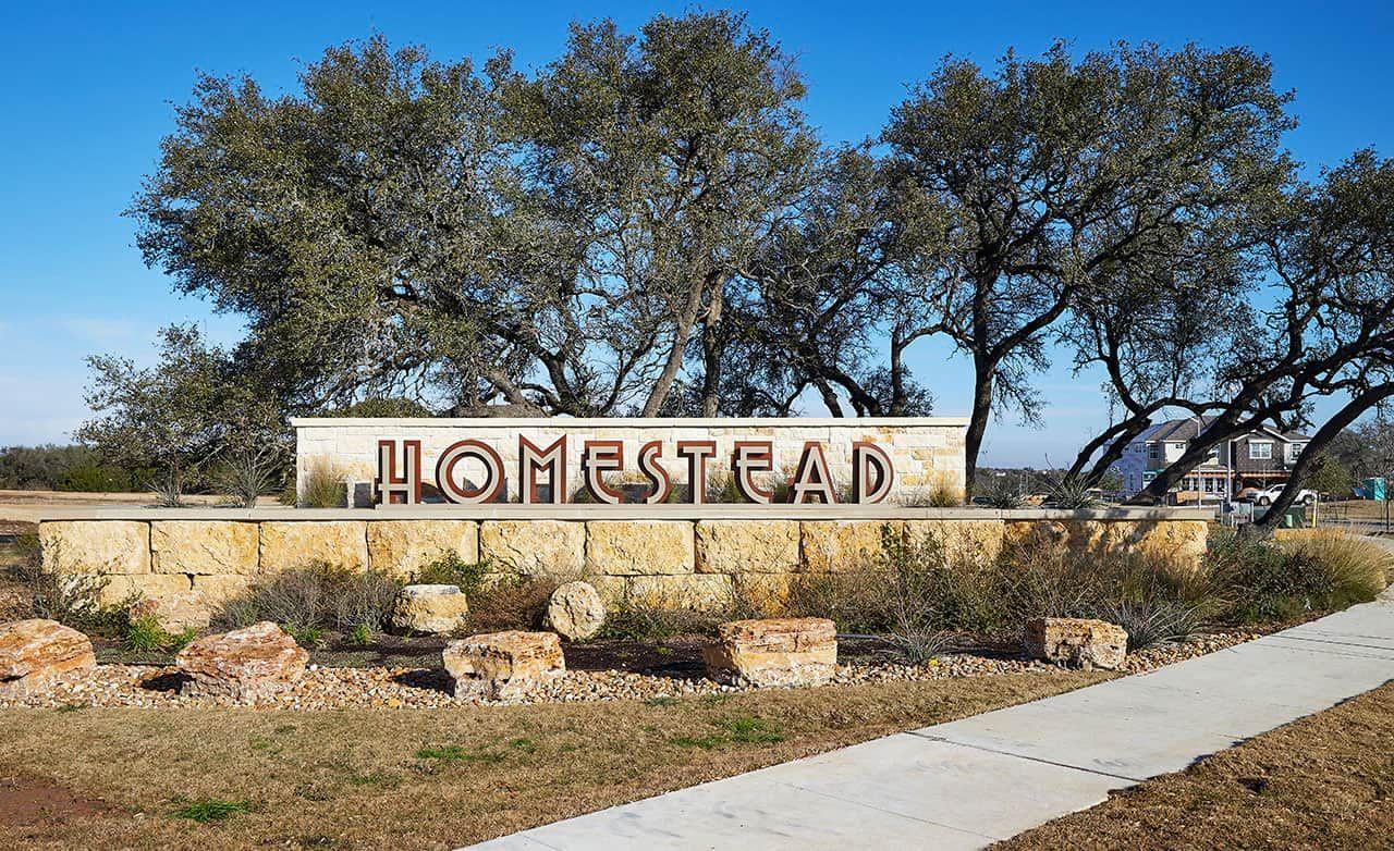 Homestead Community Sign
