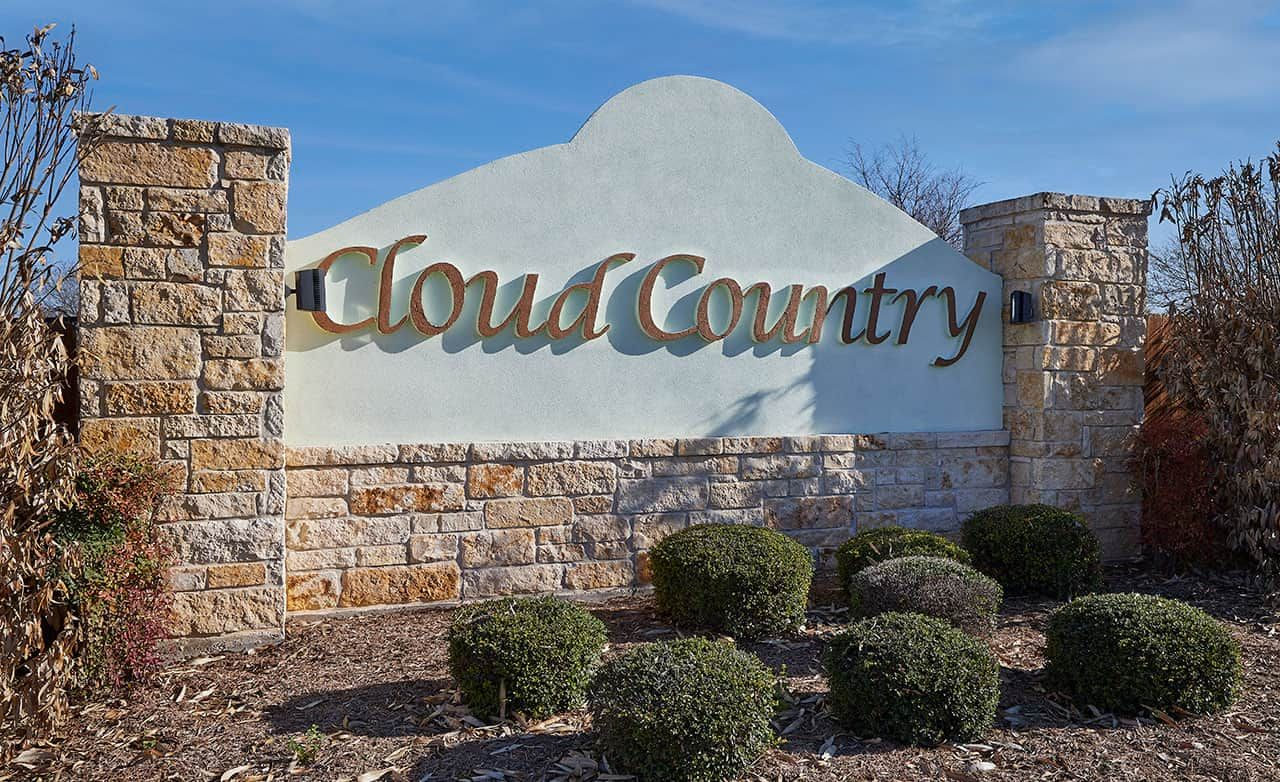 Cloud Country Community Sign