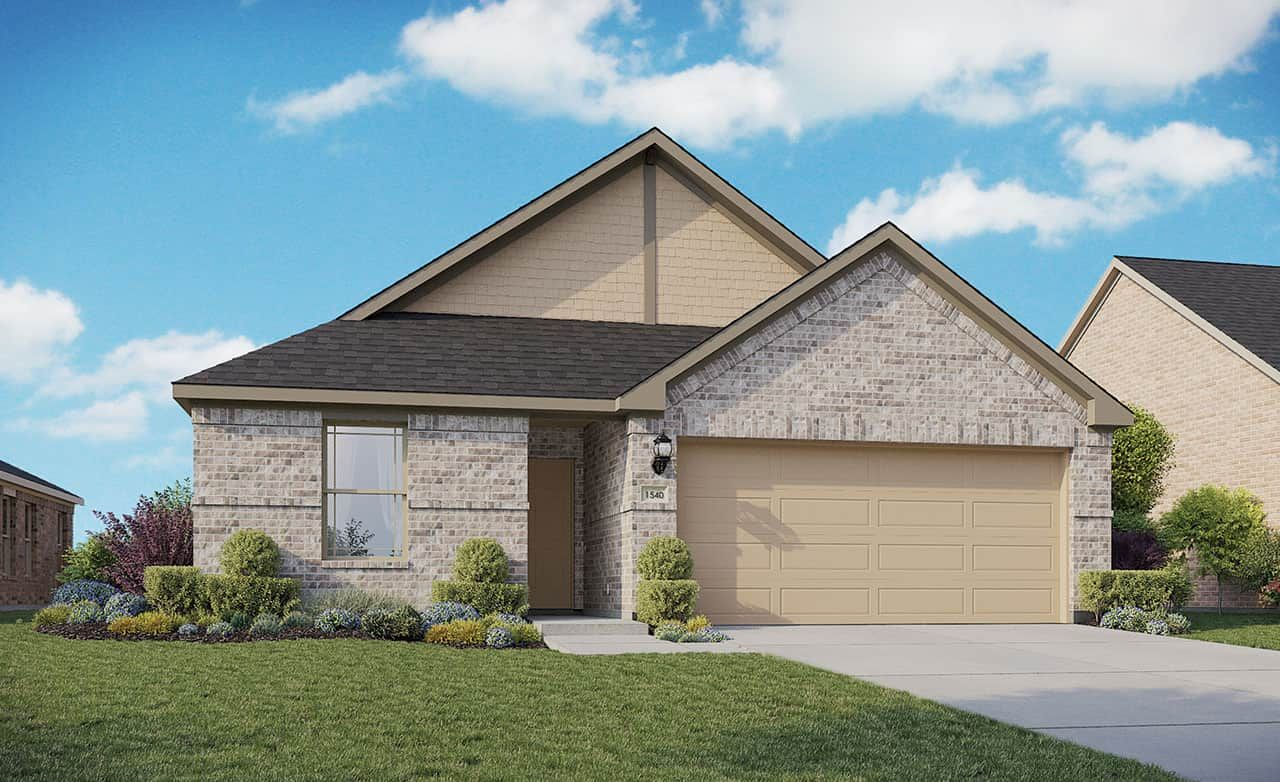 Exterior featured in the Enclave Series - Bali By Gehan Homes in San Antonio, TX