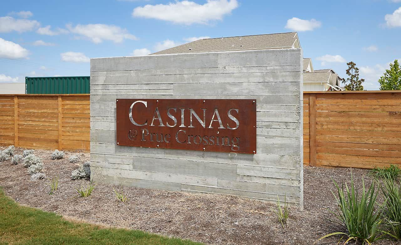 Casinas at Prue Crossing Community – Sign