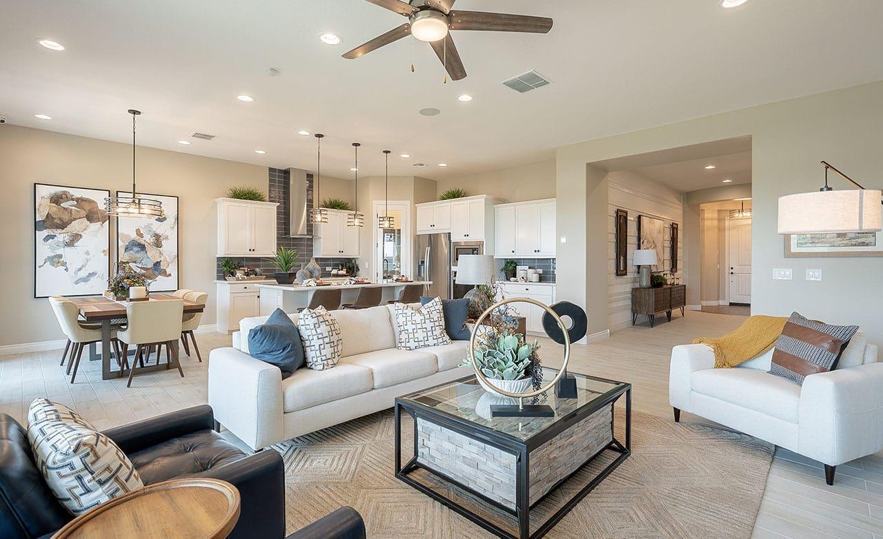 Living Area featured in the Hacienda Series - Crimson By Gehan Homes in Phoenix-Mesa, AZ
