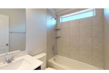 Bathroom-in-Rosewood-at-Highpoint Hill-in-Burleson