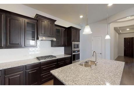 Kitchen-in-Juniper-at-Lakeside Estates at Paloma-in-Little Elm