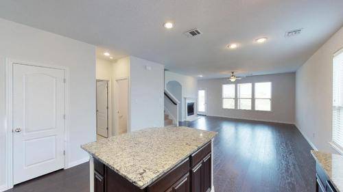 Kitchen-in-Redwood-at-Talon Hill - Premier-in-Fort Worth