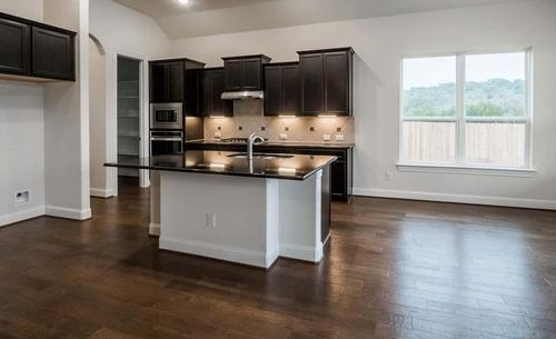 Kitchen-in-Harvard-at-Champion Heights in Boerne - Classic  80' Lots-in-Boerne