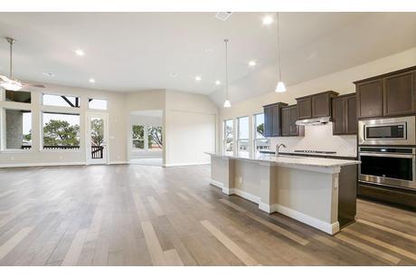 Kitchen-in-Villanova-at-Mason Hills - Classic-in-Leander