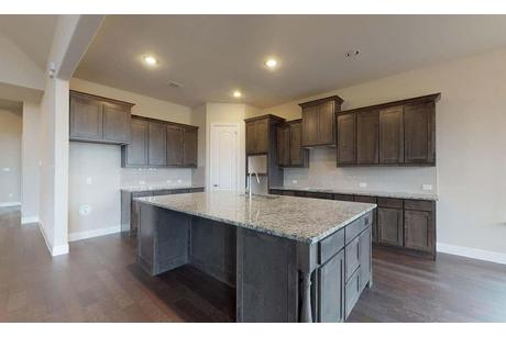 Kitchen-in-Princeton-at-Wellington - Classic-in-Fort Worth