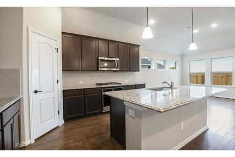 Kitchen-in-Palm-at-The Park at Blackhawk - Premier-in-Pflugerville