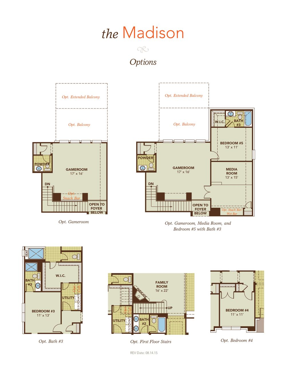 Madison model at 2151 graystone hills for Madison homes floor plans