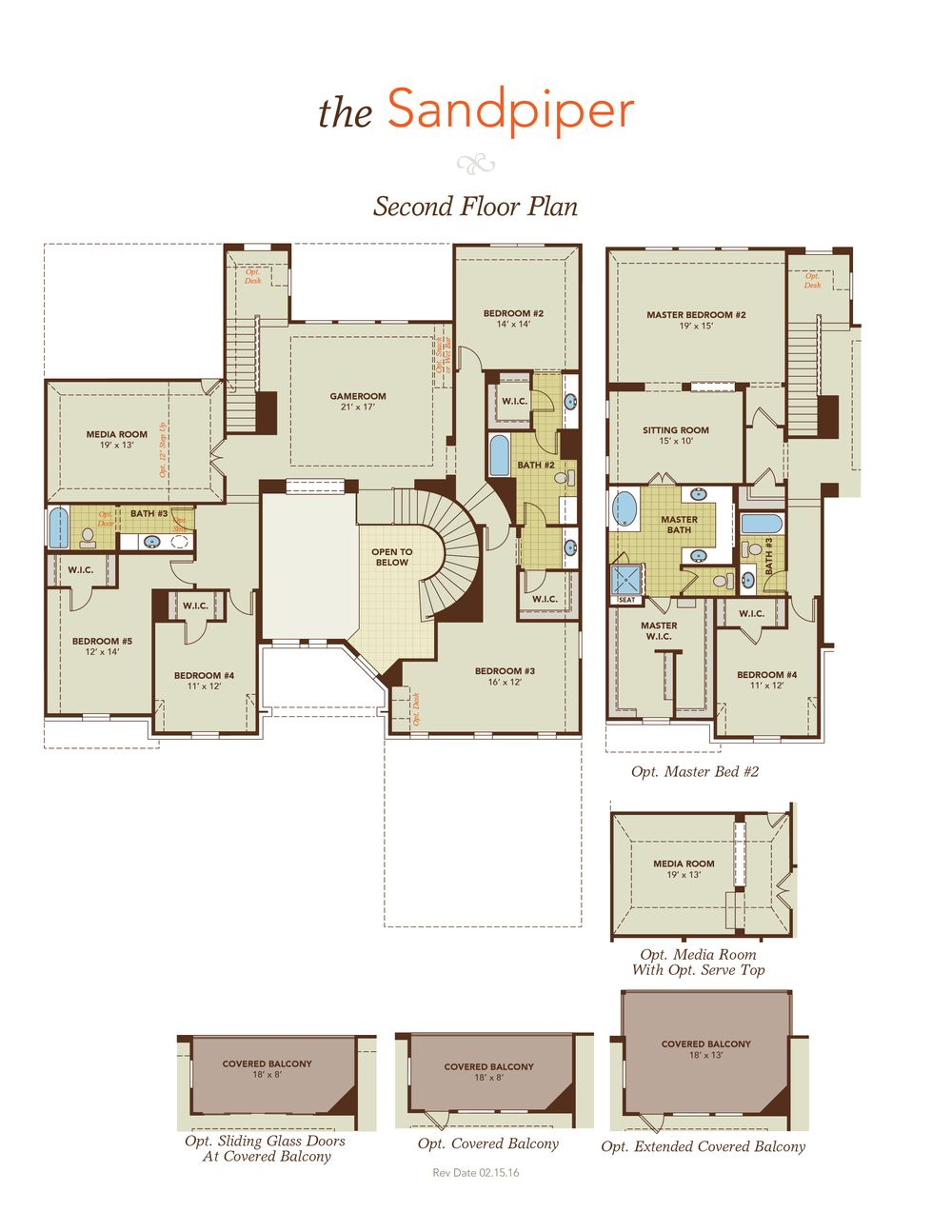Sandpiper home plan by gehan homes in graystone hills for Floor plans for homes in texas