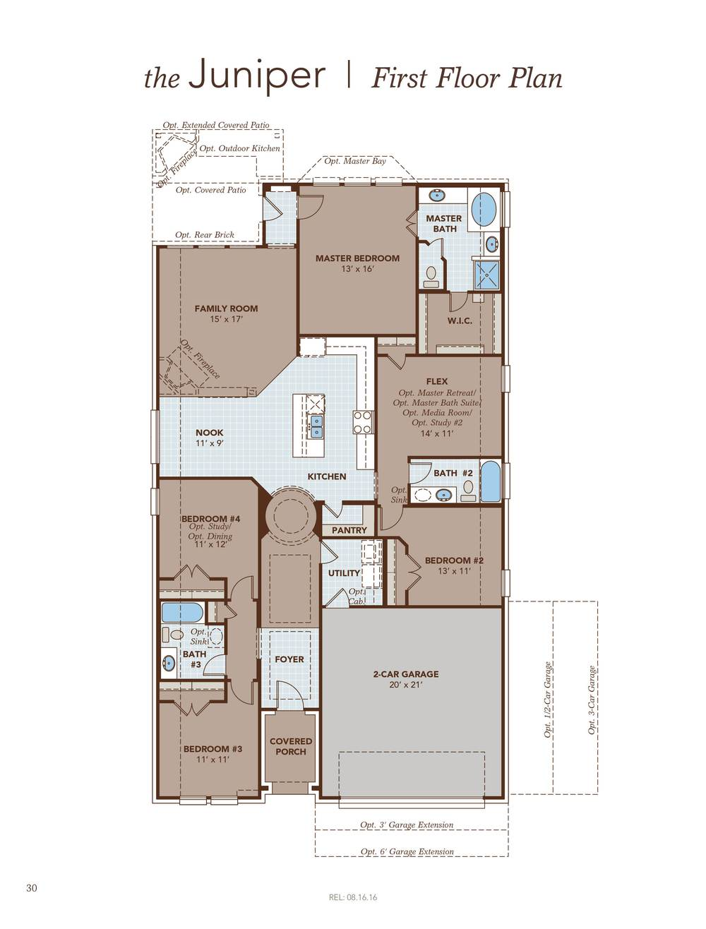 Juniper home plan by gehan homes in towne lake for Juniper floor plan