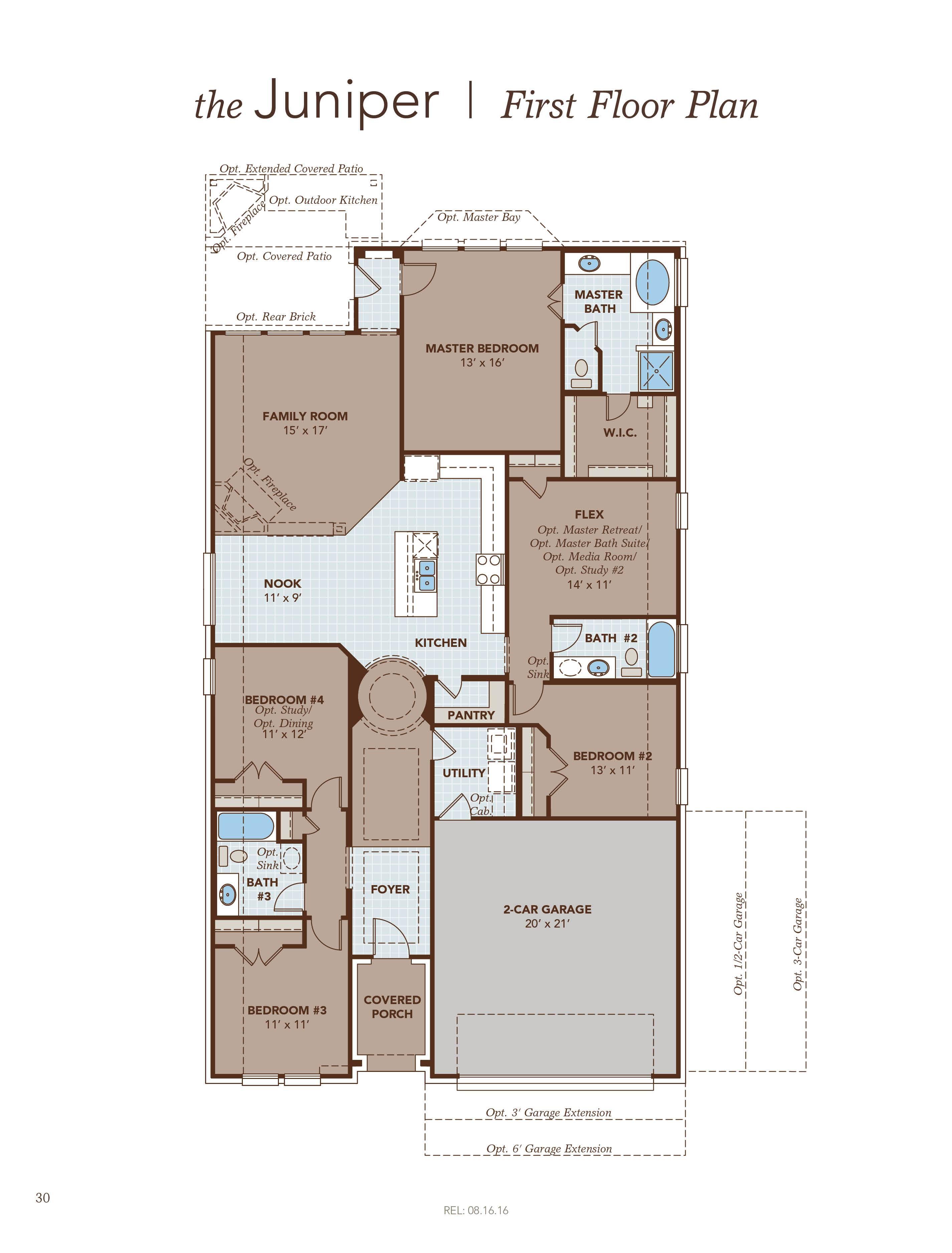 Beautiful Juniper Floor Plan Part - 1: Floor Plan