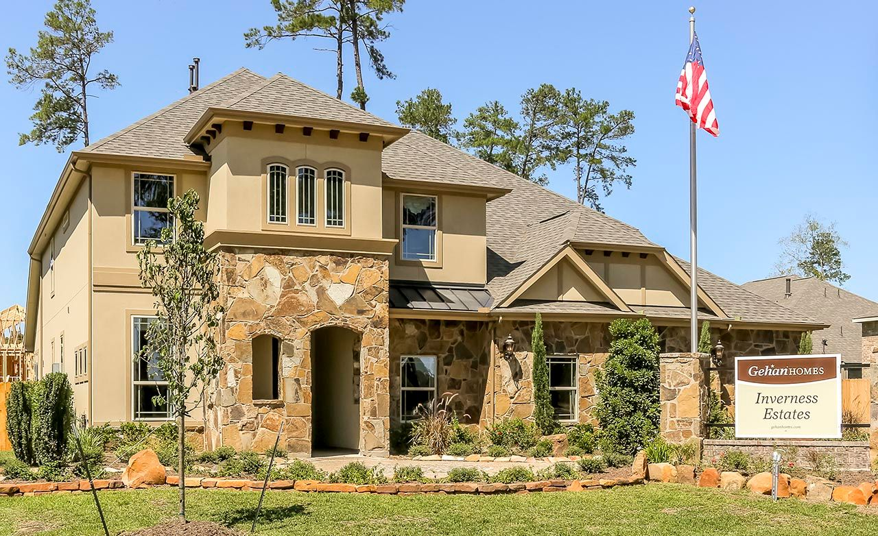 Inverness estates classic in tomball tx by gehan homes for Gehan homes
