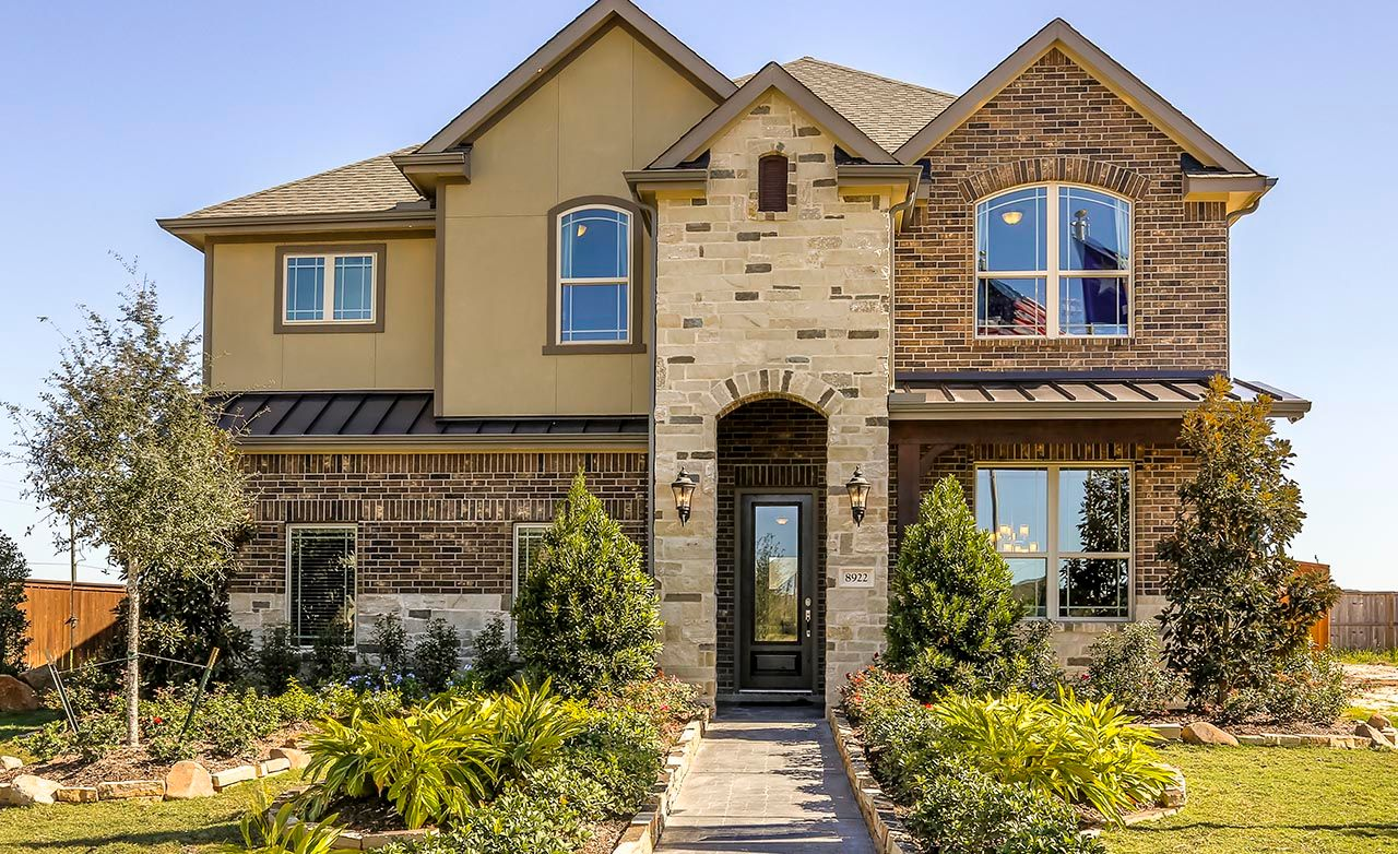 Towne lake in cypress tx by gehan homes for Cypress house