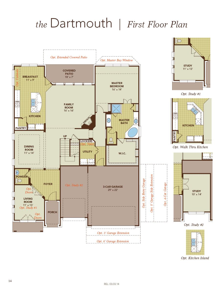 dartmouth home plan by gehan homes in westwood