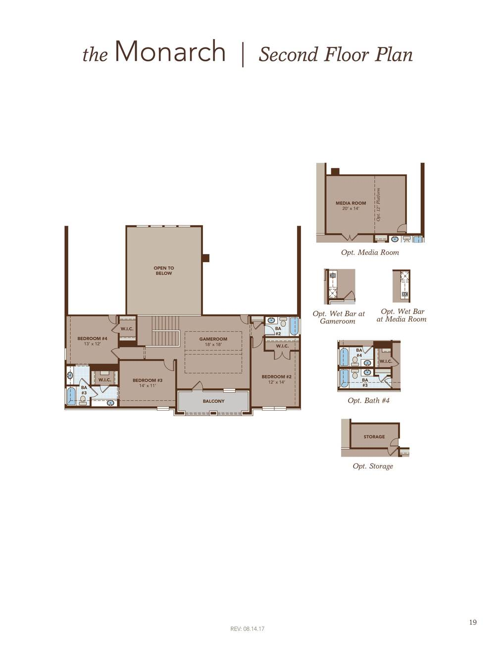 Monarch home plan by gehan homes in hidden lakes classic 80 Monarch homes floor plans