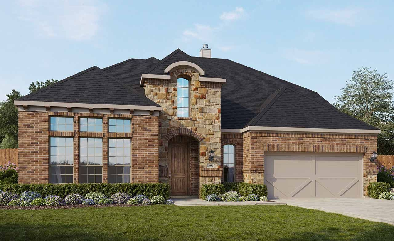 Princeton Home Plan By Gehan Homes In Inverness Estates