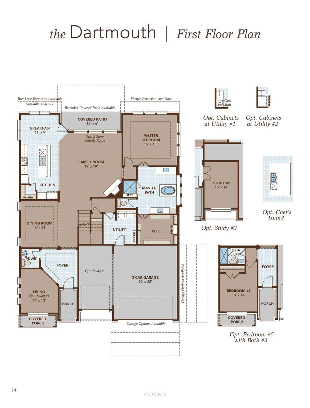 Dartmouth Home Plan By Gehan Homes In Harper 39 S Preserve