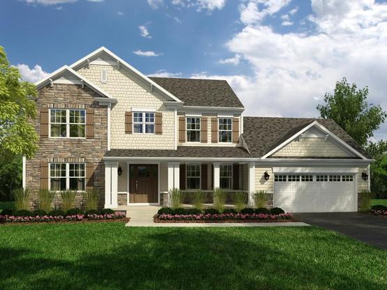 Exterior:Elevation E - Similar Home Shown