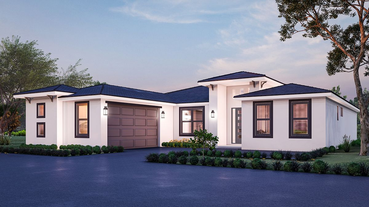 Exterior featured in the Model 2370 By Genesis Homes in Melbourne, FL