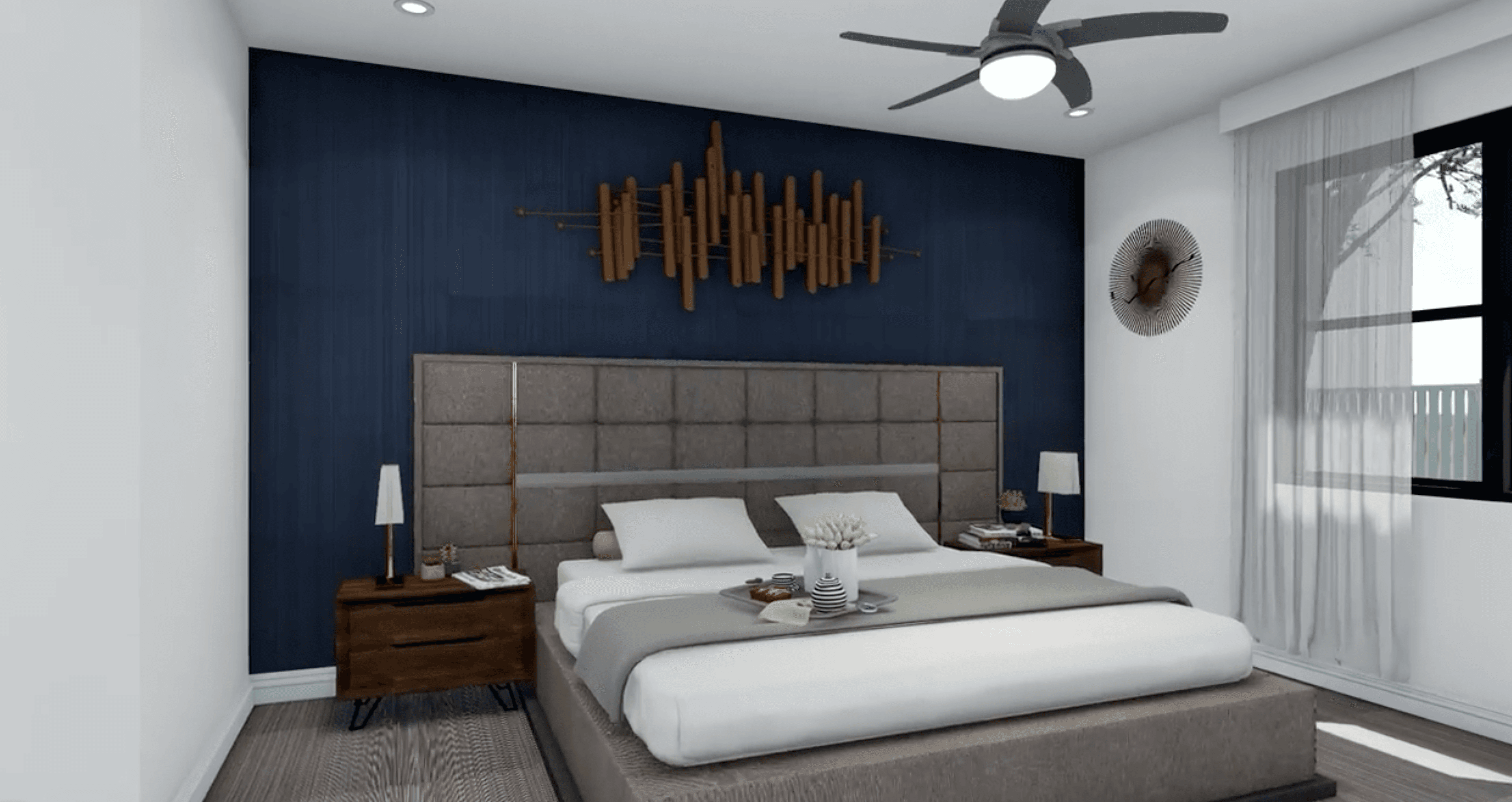 Bedroom featured in the Model 2370 By Genesis Homes in Melbourne, FL