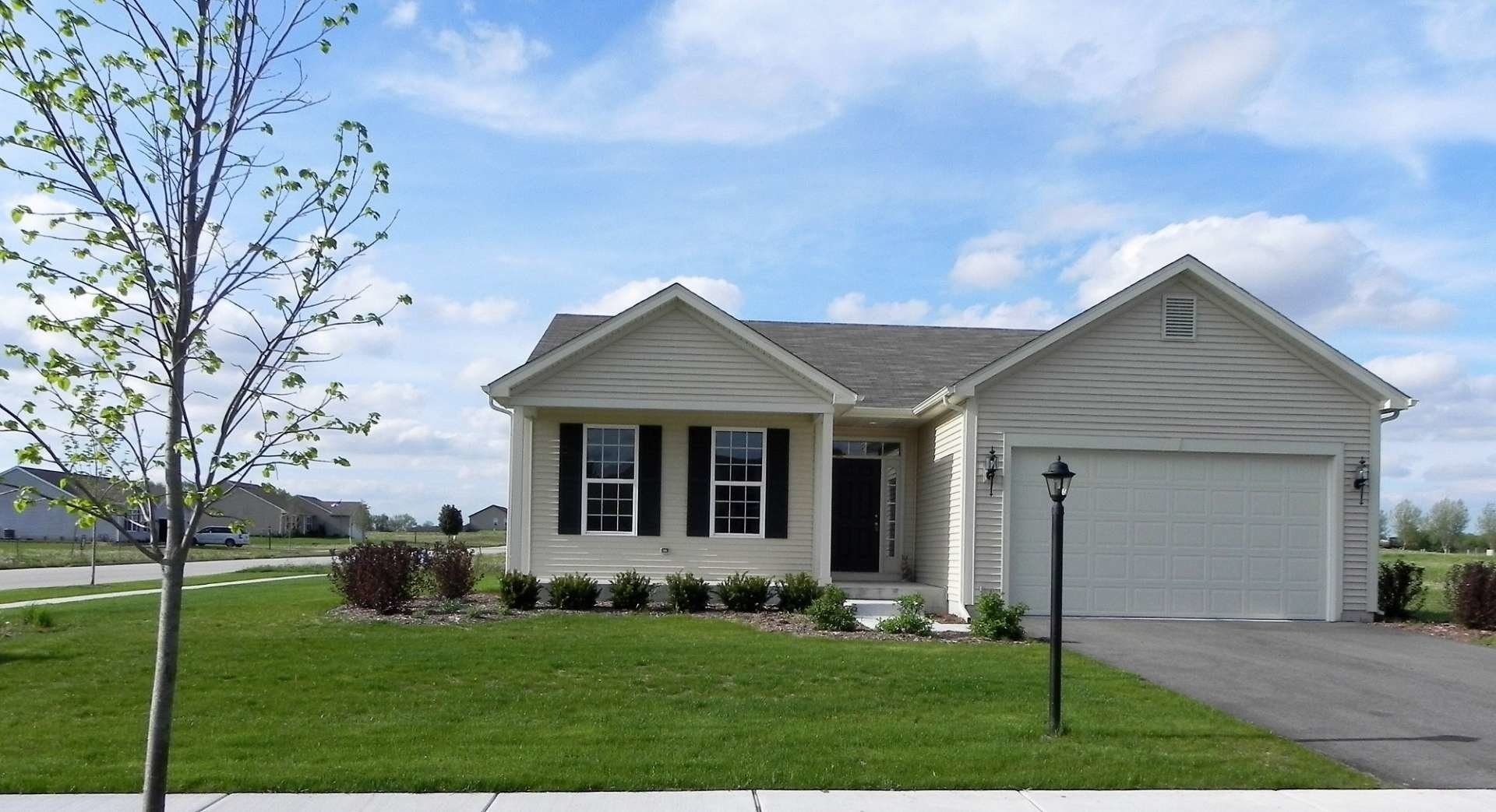 Exterior featured in the Prestwick By Gerstad Builders in Rockford, IL