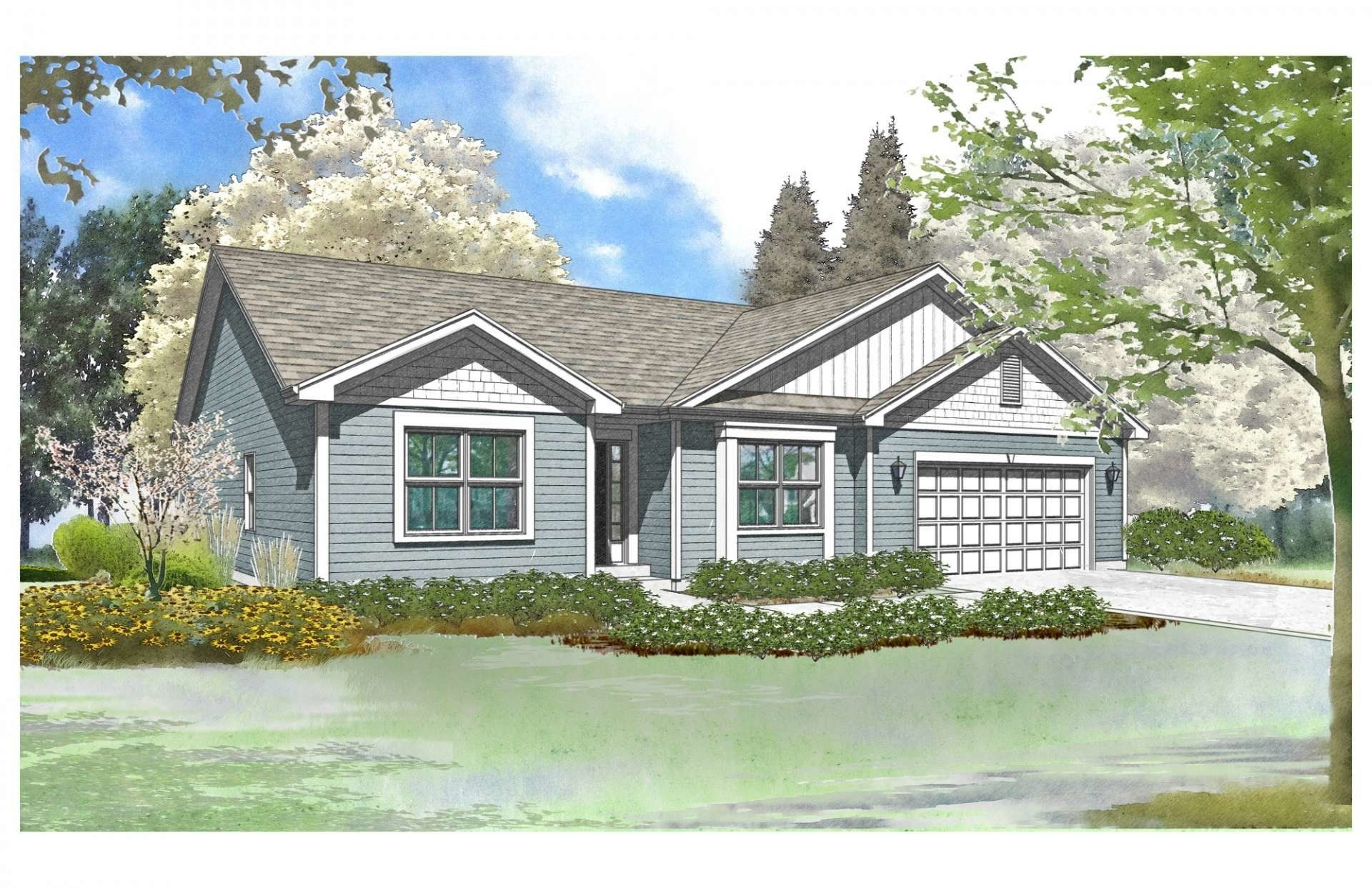 Exterior featured in the Bay View By Gerstad Builders in Rockford, IL