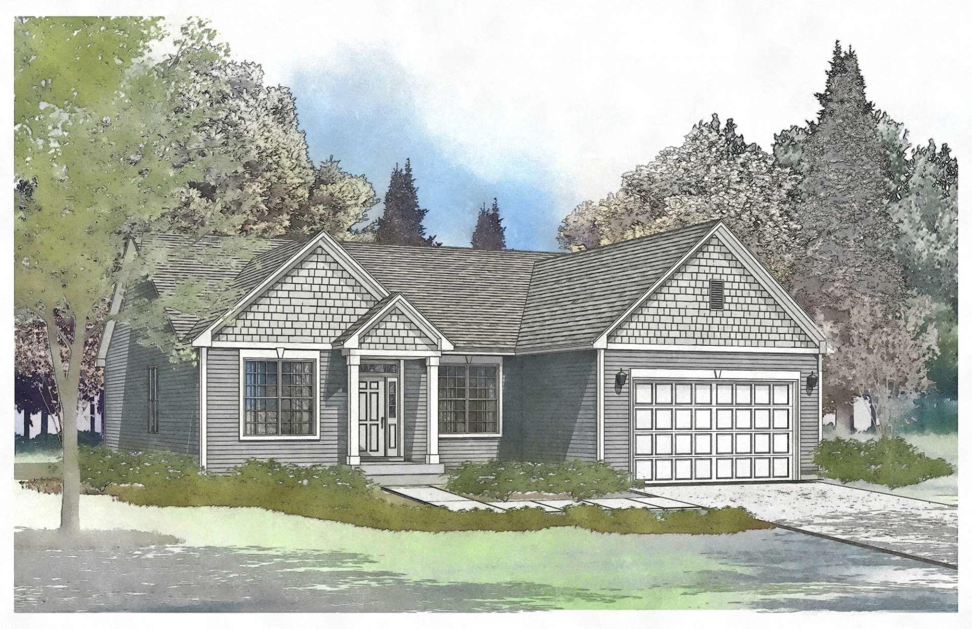 Exterior featured in the Jefferson By Gerstad Builders in Racine, WI