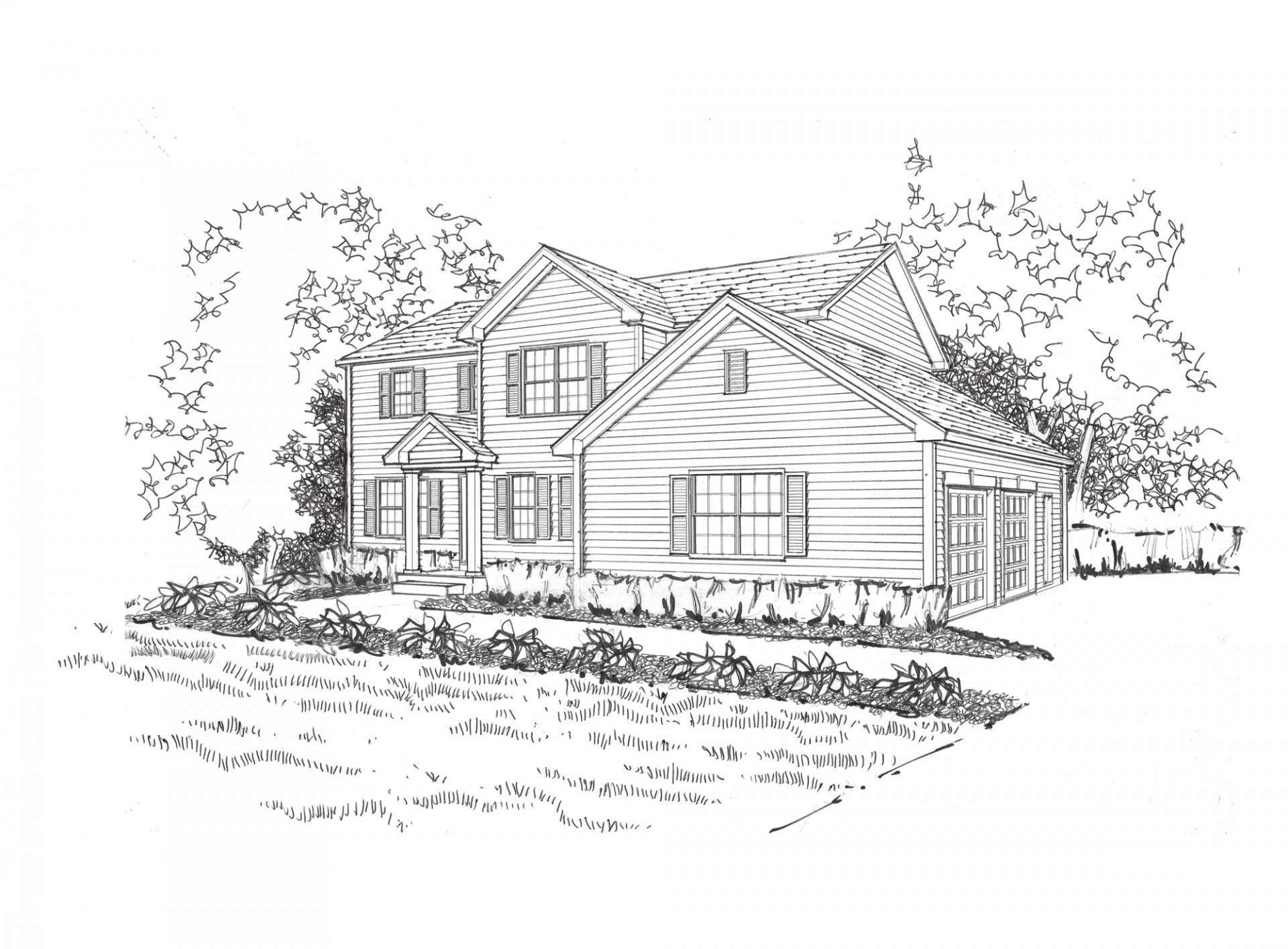 Exterior featured in the Jackson By Gerstad Builders in Racine, WI