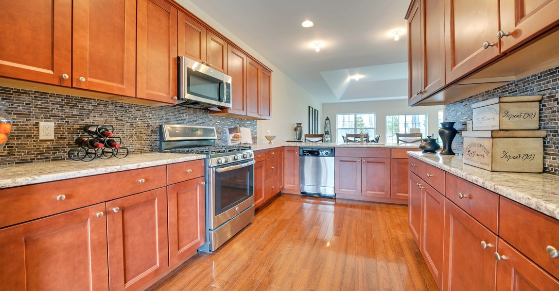 Kitchen featured in The Cornwall By Ginsburg Development Companies in Orange County, NY