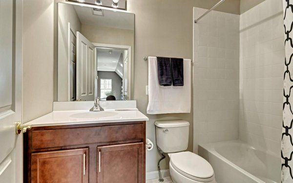 Bathroom featured in The Aster By Ginsburg Development Companies in Orange County, NY