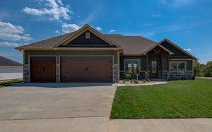Exterior featured in The Bradley By Girard Homes - Custom in Columbia-Jefferson City, MO
