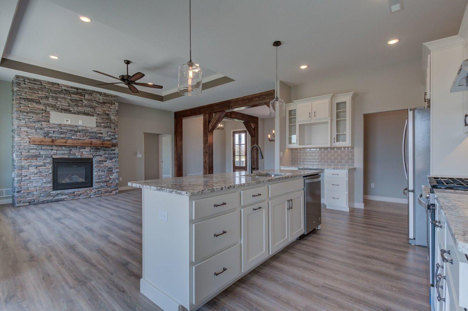 Kitchen featured in The Bradley By Girard Homes - Custom in Columbia-Jefferson City, MO