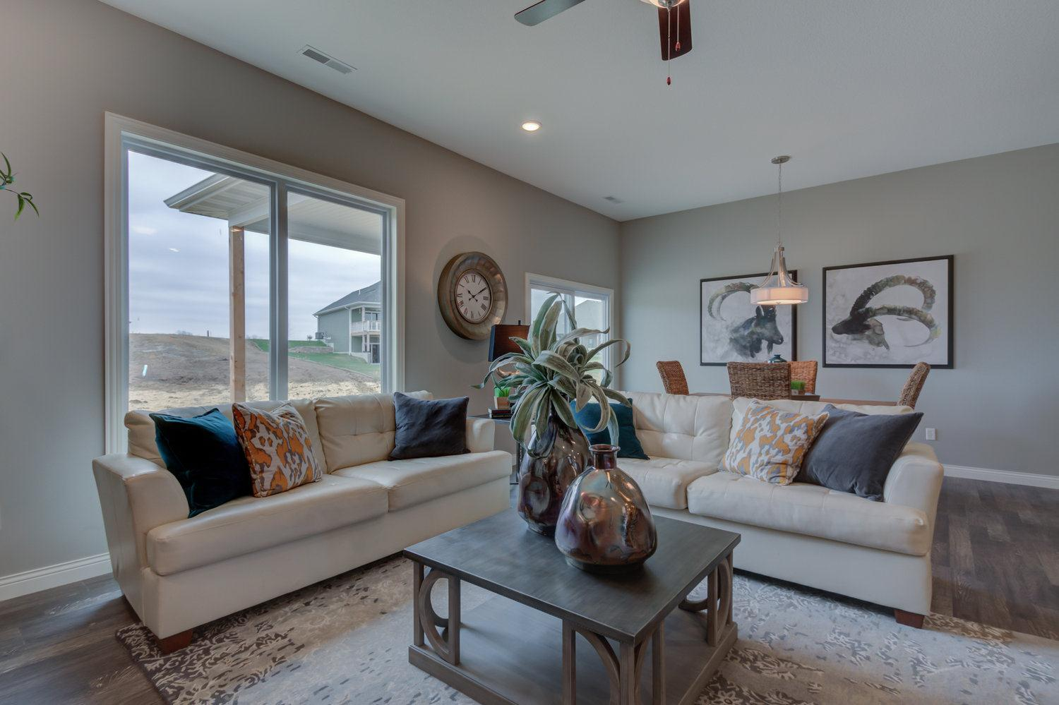 Living Area featured in The Baldwin By Girard Homes - Custom in Columbia-Jefferson City, MO