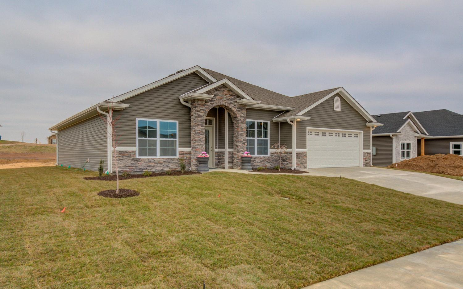 Exterior featured in The Baldwin By Girard Homes - Custom in Columbia-Jefferson City, MO