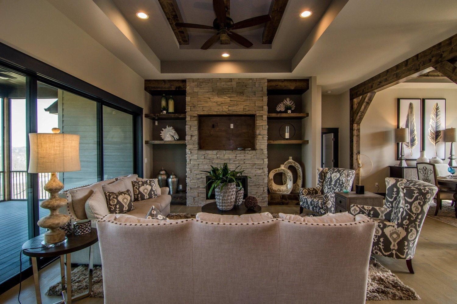 Living Area featured in The Faith By Girard Homes - Custom in Columbia-Jefferson City, MO