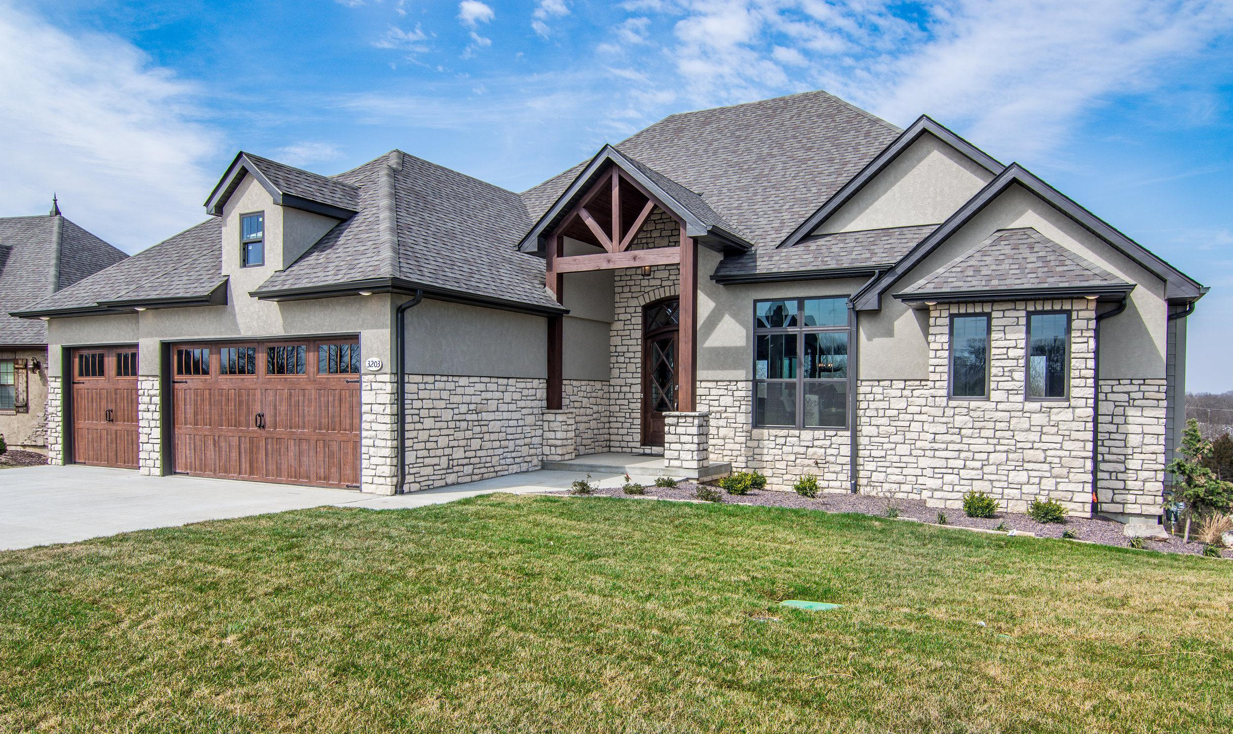Exterior featured in The Faith By Girard Homes - Custom in Columbia-Jefferson City, MO